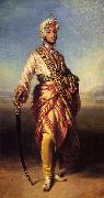 Franz Xaver Winterhalter The Maharajah Duleep Singh oil painting picture wholesale