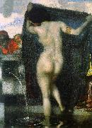 Franz von Stuck Susanna Bathing oil painting picture wholesale