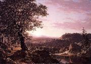Frederic Edwin Church July Sunset oil painting picture wholesale