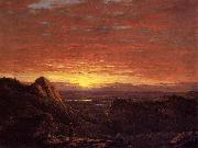 Frederic Edwin Church Morning, Looking East over the Hudson Valley from the Catskill Mountains oil painting picture wholesale