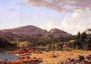 Frederic Edwin Church Otter Creek, Mount Desert oil painting picture wholesale