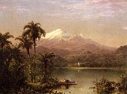 Frederic Edwin Church Tamaca Palms oil painting picture wholesale