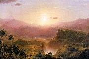 Frederic Edwin Church Andes of Ecuador oil painting picture wholesale