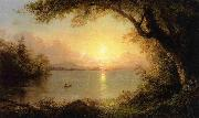 Frederic Edwin Church Lake Scene oil painting picture wholesale