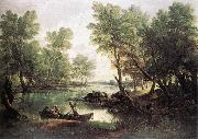 GAINSBOROUGH, Thomas River Landscape dg oil painting picture wholesale