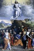 GAROFALO Ascension of Christ sdg oil painting