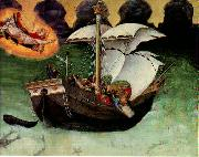 Quaratesi Altarpiece: St. Nicholas saves a storm-tossed ship gfh