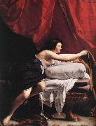 GENTILESCHI, Orazio Joseph and Potiphar's Wife (detail) dsg oil painting picture wholesale