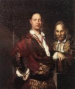 GHISLANDI, Vittore Portrait of Giovanni Secco Suardo and his Servant  fgh oil painting picture wholesale