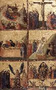 GIOVANNI DA RIMINI Stories of the Life of Christ sh oil painting