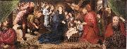 GOES, Hugo van der Adoration of the Shepherds sg oil painting picture wholesale