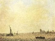 GOYEN, Jan van View of Dordrecht from the Oude Maas sdg oil painting picture wholesale
