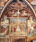 GOZZOLI, Benozzo Madonna and Child Surrounded by Saints sd oil painting reproduction