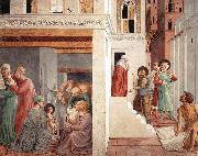 Scenes from the Life of St Francis (Scene 1, north wall) g