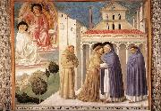 Scenes from the Life of St Francis (Scene 4, south wall) sdg