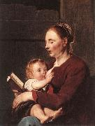 GREBBER, Pieter de Mother and Child sg oil painting