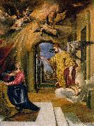 GRECO, El The Annunciation sdgm oil painting
