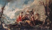 GUARDI, Gianantonio The Healing of Tobias s Father oil painting