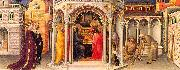 Gentile da  Fabriano The Presentation in the Temple oil painting reproduction
