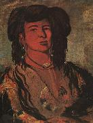 George Catlin The Dakota Chief : One Horn oil painting picture wholesale