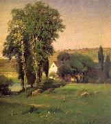 George Inness Old Homestead oil painting