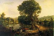 George Inness Afternoon oil painting