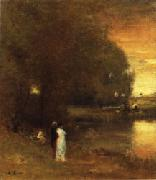 George Inness Over the River oil painting picture wholesale