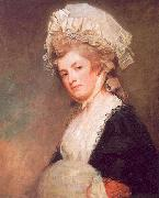 George Romney Mrs Mary Robinson oil painting