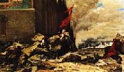 Georges Clairin The Burning of the Tuileries oil painting picture wholesale
