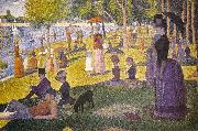 Georges Seurat Sunday Afternoon on the Island of La Grande Jatte oil painting picture wholesale