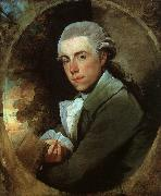 Gilbert Charles Stuart Man in a Green Coat oil painting reproduction
