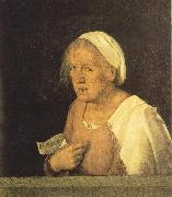 Giorgione Old Woman dhjd oil painting picture wholesale
