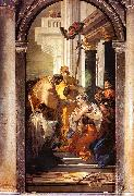 Giovanni Battista Tiepolo The Last Communion of St.Lucy oil painting