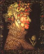 Giuseppe Arcimboldo Summer oil painting