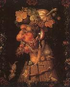 Giuseppe Arcimboldo Autumn oil painting