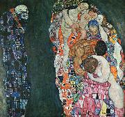 Gustav Klimt Death and Life oil painting picture wholesale