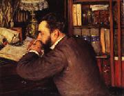 Gustave Caillebotte Henri Cordier oil painting reproduction