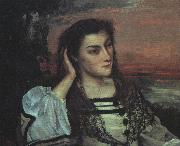Gustave Courbet Portrait of Gabrielle Borreau oil painting picture wholesale