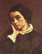 Gustave Courbet Juliette Courbet oil painting