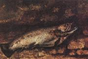 Gustave Courbet The Trout oil painting