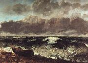 Gustave Courbet The Wave oil painting picture wholesale