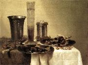 HEDA, Willem Claesz. Breakfast Still-Life sg oil painting picture wholesale