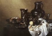 HEDA, Willem Claesz. Still-life stj7 oil painting picture wholesale