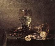 HEDA, Willem Claesz. Still-Life af oil painting artist