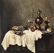 HEDA, Willem Claesz. Breakfast of Crab  sdg oil painting picture wholesale
