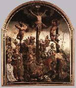 HEEMSKERCK, Maerten van The Crucifixion sg oil painting