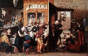 HEMESSEN, Jan Sanders van Merry Company s oil painting