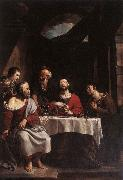 HERREYNS, Willem Supper at Emmaus sf oil painting