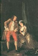 HOGARTH, William Before the Seduction and After sf oil painting picture wholesale