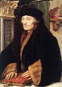 HOLBEIN, Hans the Younger Portrait of Erasmus of Rotterdam sg oil painting picture wholesale